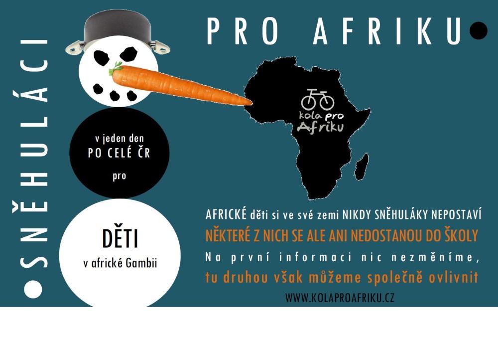 Sněhuláci pro Afriku - plakát